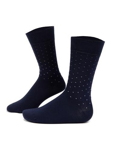 Pierre Cardin A021Sz013.Out.Nok-Y21.200 Çorap Lacivert